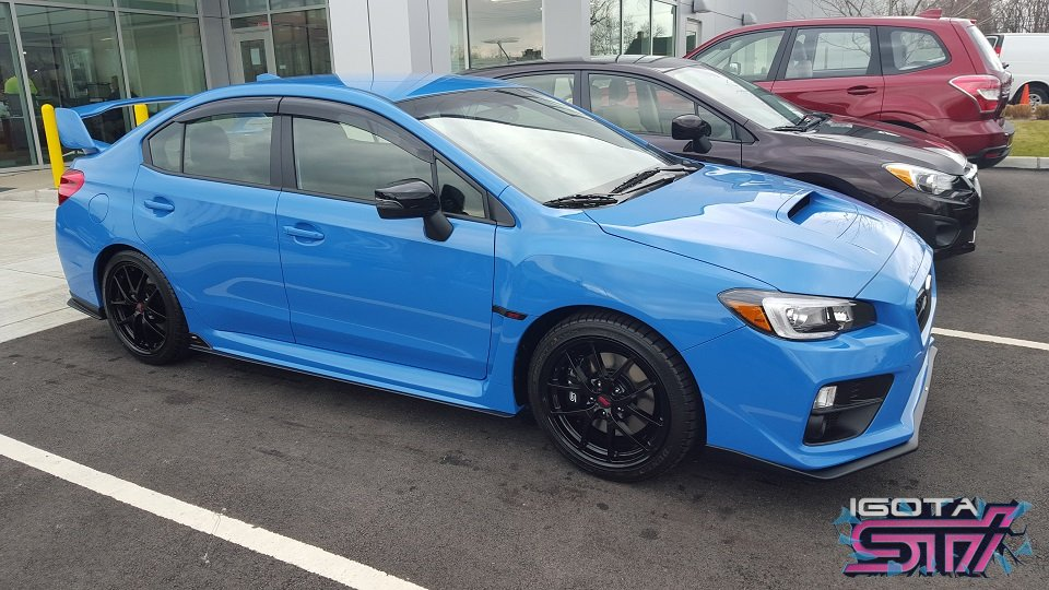 Beautiful VA So What39s Better Than One STi How About Two 2016 Subaru Impreza WRX